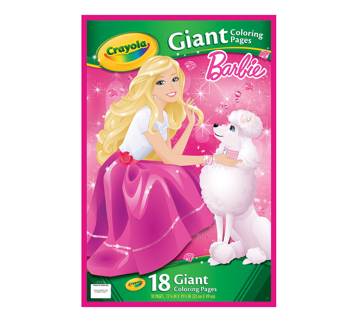 Crayola Giant Coloring Pages Barbie : Giant coloring pages barbie crayola