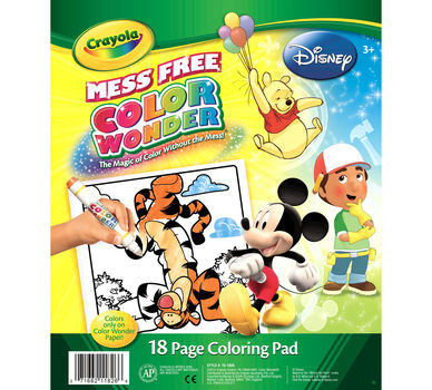 Color Wonder Coloring Pad - Disney Preschool