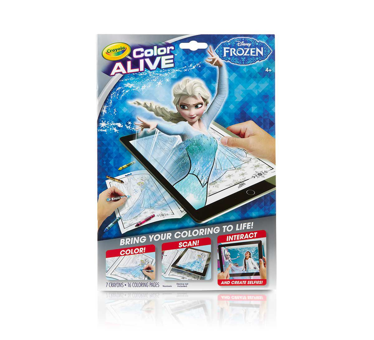 color alive frozen - Crayola Color Alive Pages Minions