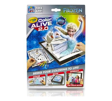 Crayola, Frozen, Color Alive 2.0, Interactive Coloring Pages ...