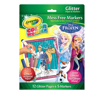 Color Wonder Disney Frozen Glitter