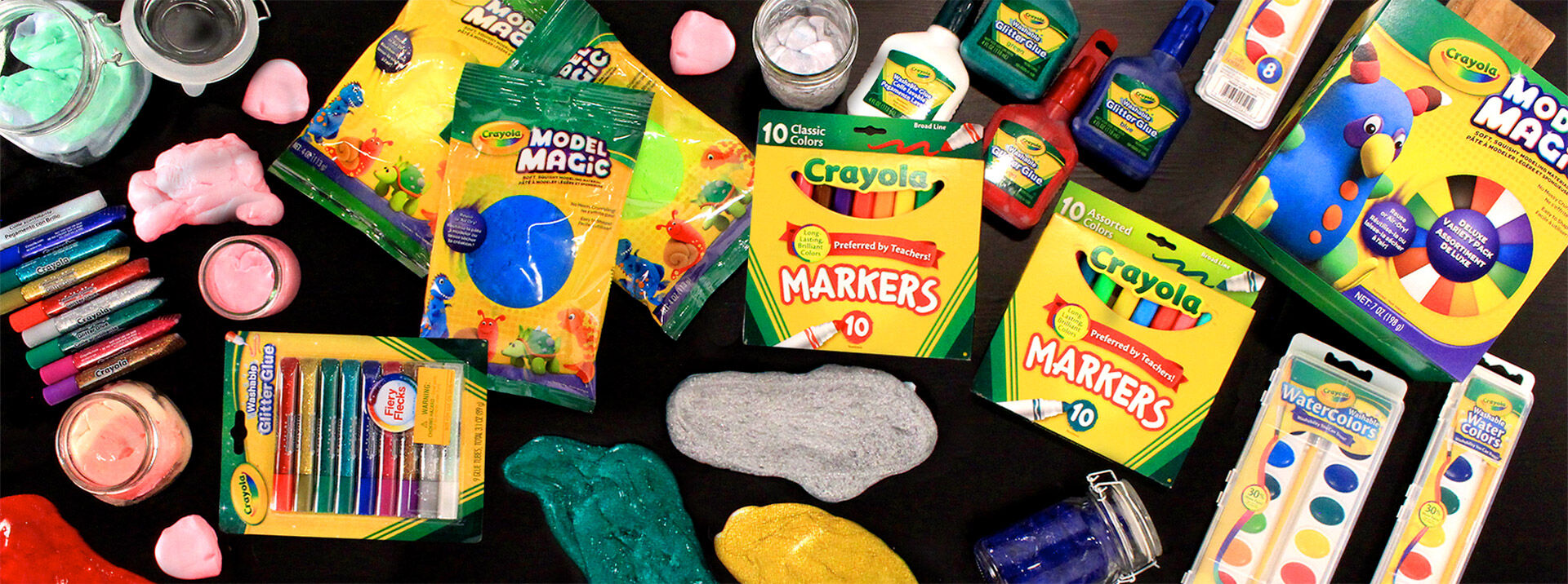 Create It Yourself Slime Materials