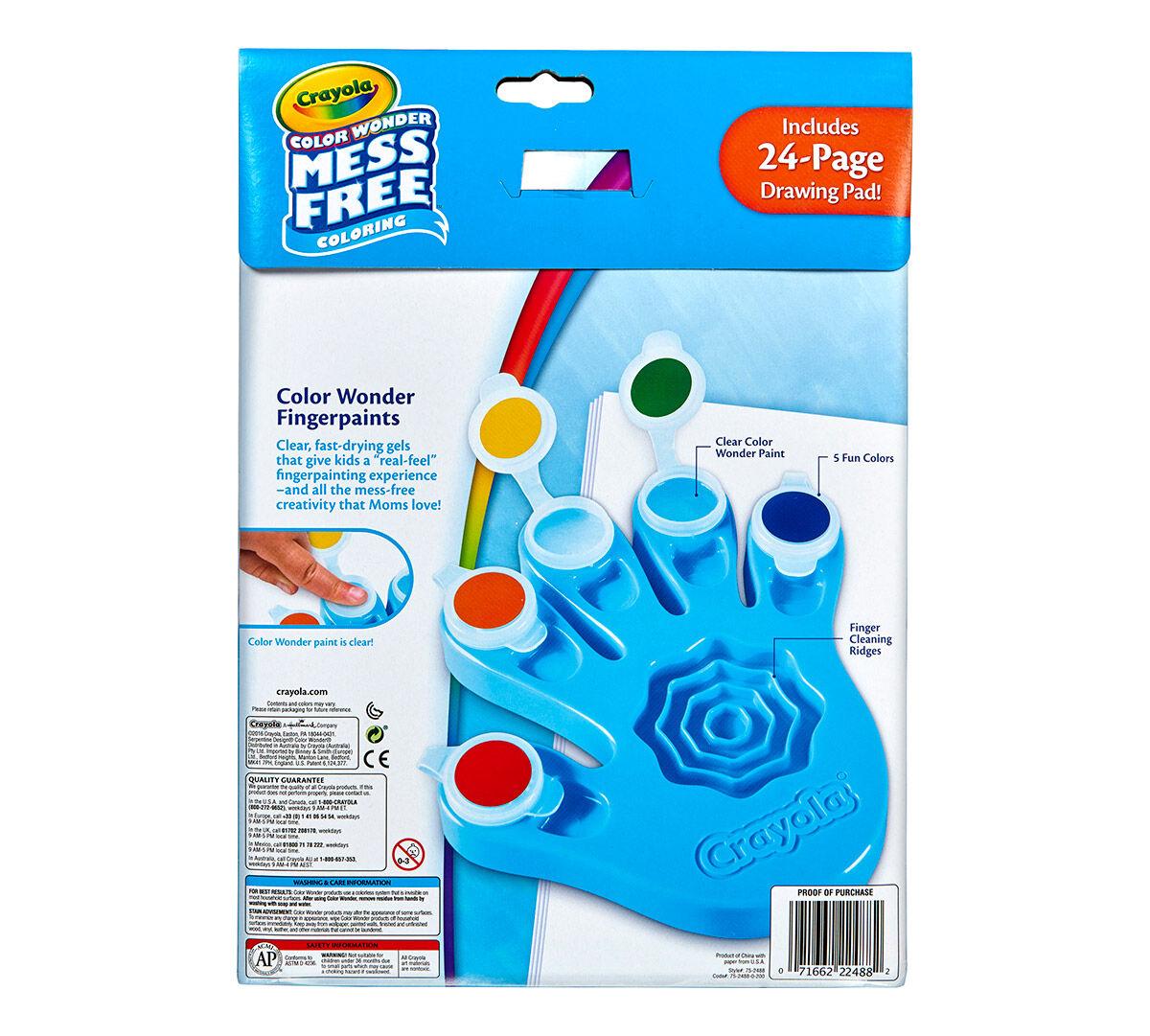 Color Wonder Fingerpaint Hand Crayola