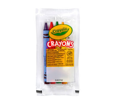 4 Count Crayons Bulk Case - 360 packs