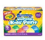 Washable Glitter Paint Set, 6 ct.