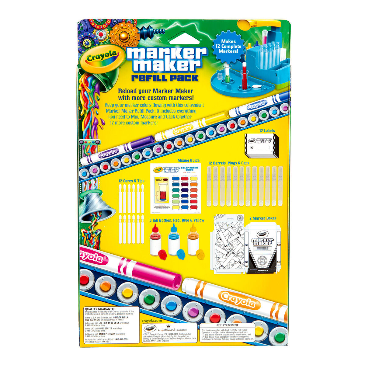 Marker maker unit and refill pack crayola marker maker unit and refill pack nvjuhfo Image collections