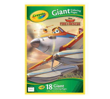 Giant Coloring Pages - Planes