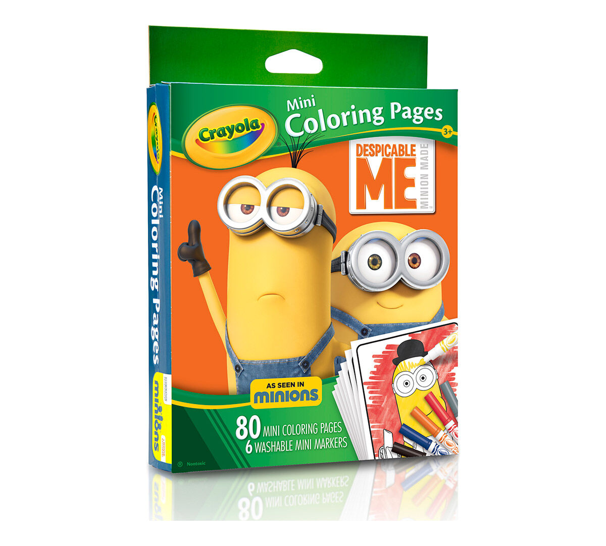 Crayola Mini Coloring Pages Despicable Me edition Art Activity
