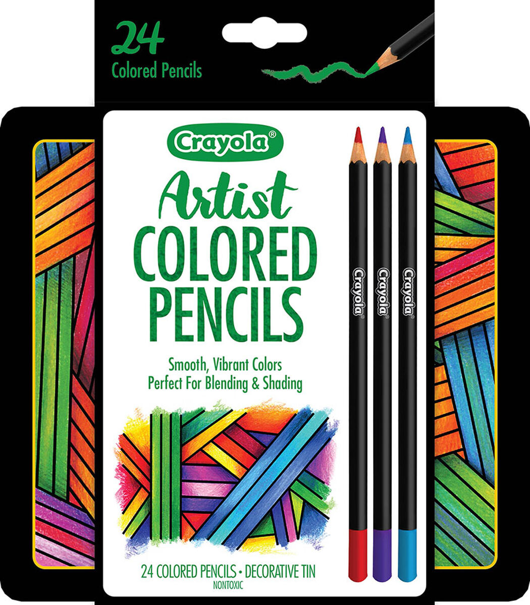 <p>Designed with premium soft gel cores, Crayola Artist Gel Colored Pencils offer exceptionally smooth laydown. Use these colored pencils to add details while drawing and for precision control while shading and blending. </p>