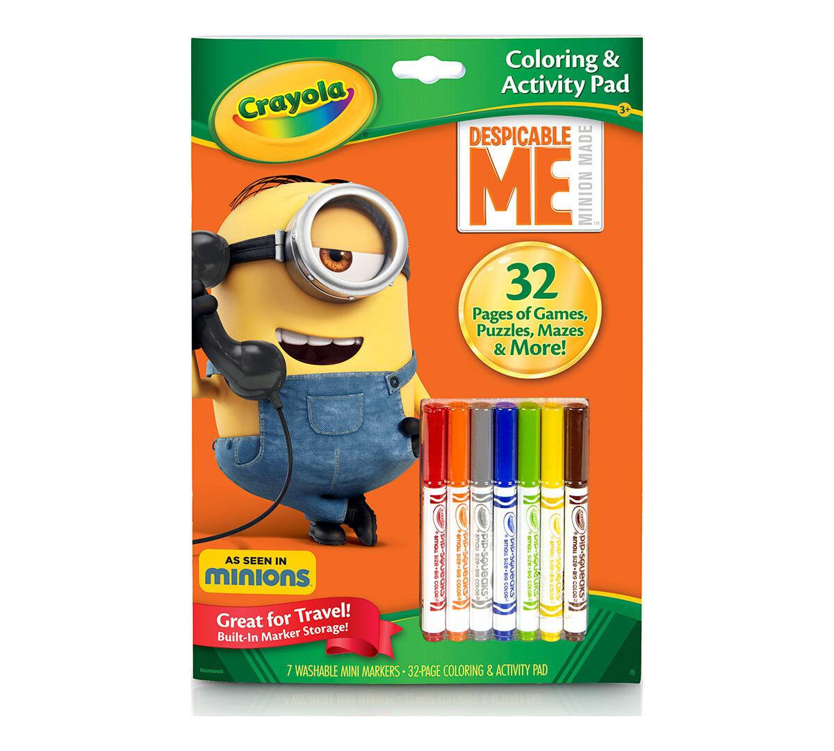 Crayola Coloring & Activity Book, Despicable Me , featuring Minions ...