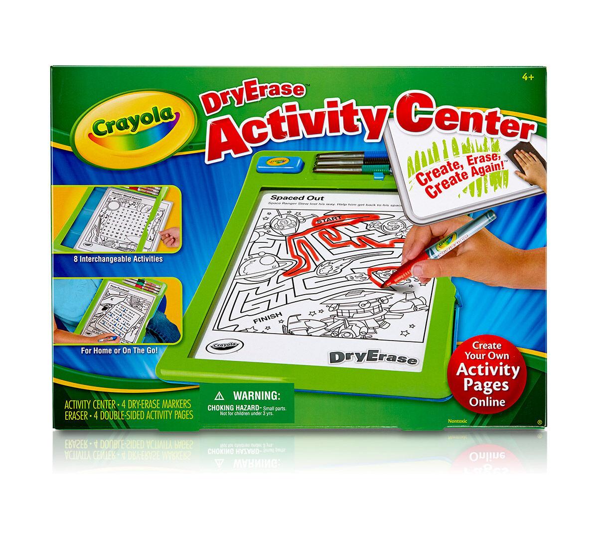 Dry Erase Activity Center - Crayola