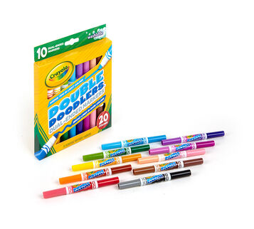 Double Doodles 10 count Markers
