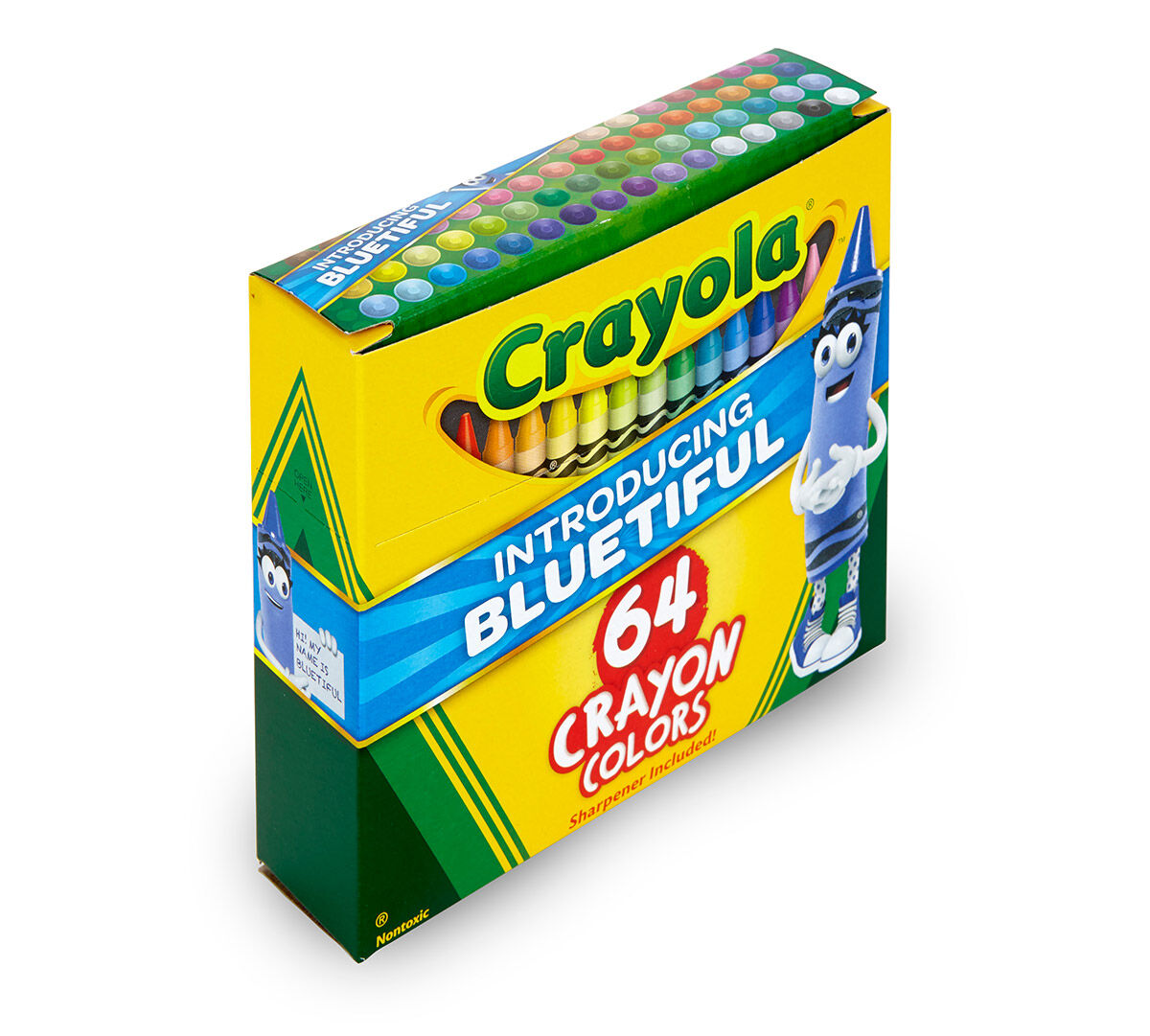 64 Crayola Crayons with Bluetiful | Crayola.com