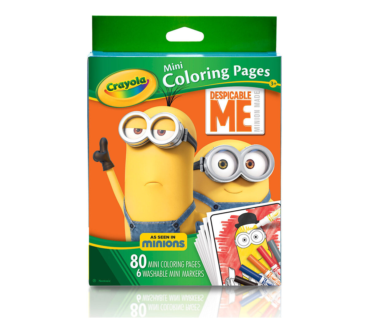 Crayola Mini Coloring Pages Frozen : Crayola mini coloring pages page for kids
