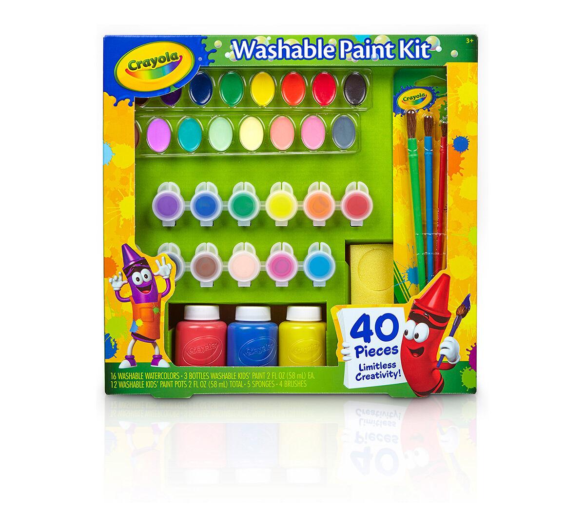 Washable paint kit crayola sciox Gallery