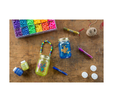 DIY Mason Jar Critter Condo & Fairy Lanterns Materials Kit
