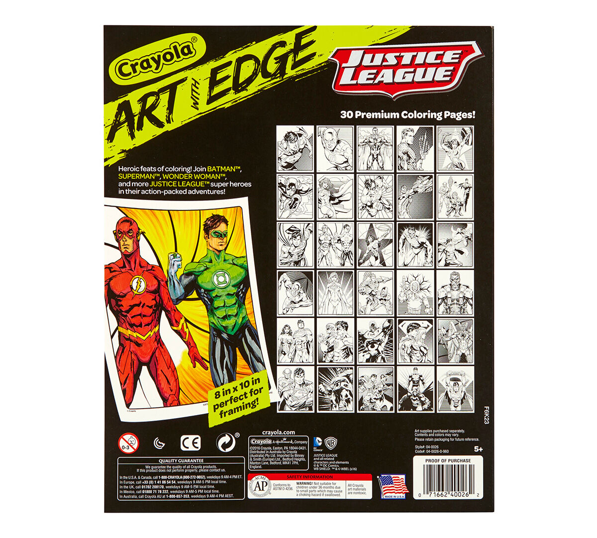 Art with Edge Justice League Collection