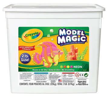 Model Magic 2 lb. Resealable Bucket - Neon Color Assortment