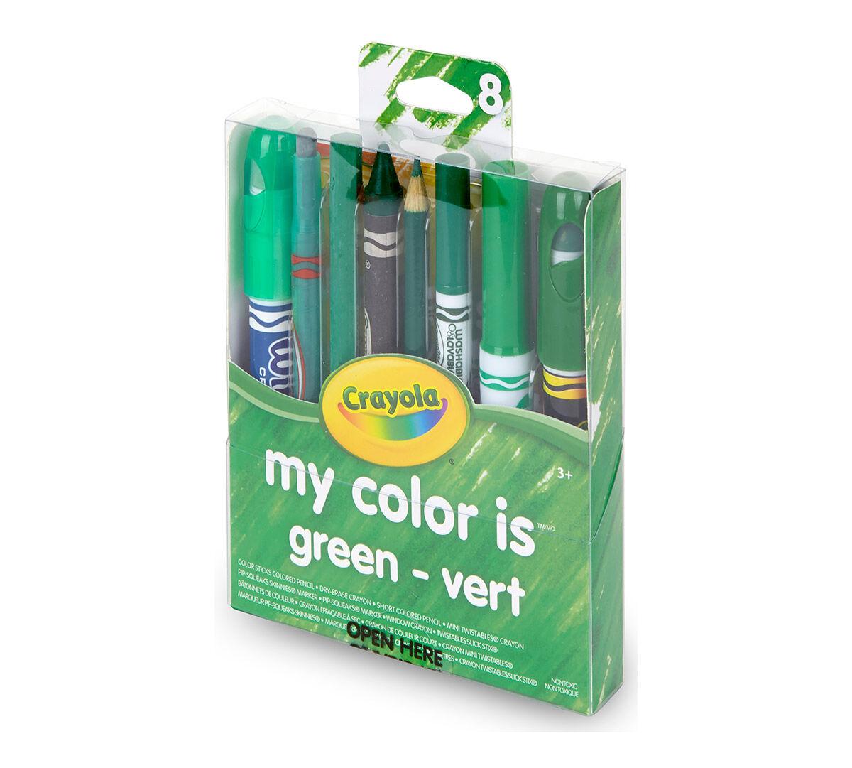 Crayola, My Color is Green