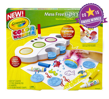 Color Wonder Mess Free Light-Up Stamper