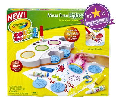 Color Wonder Mess Free Light-Up Stamper - Crayola
