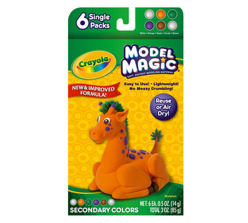 Model Magic 0.5-oz. Secondary Colors 6 ct.