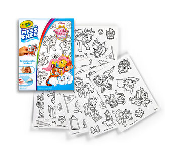 Color Wonder Stickers, Whisker Haven
