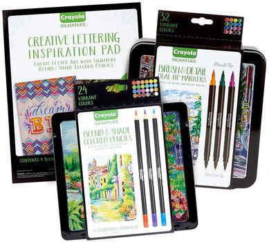 Hand Lettering Tools & Tutorials Kit