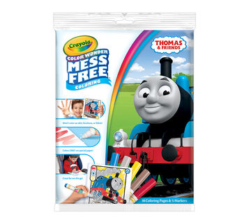 color wonder coloring pad markers thomas and friends - Magic Marker Coloring Book
