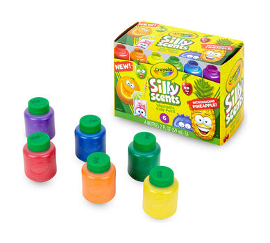 6 ct. Silly Scents™ 2 oz. Washable Kids' Paint