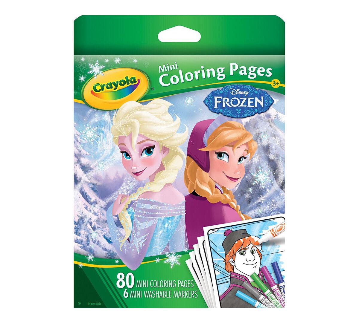 Mini Coloring Pages   Frozen