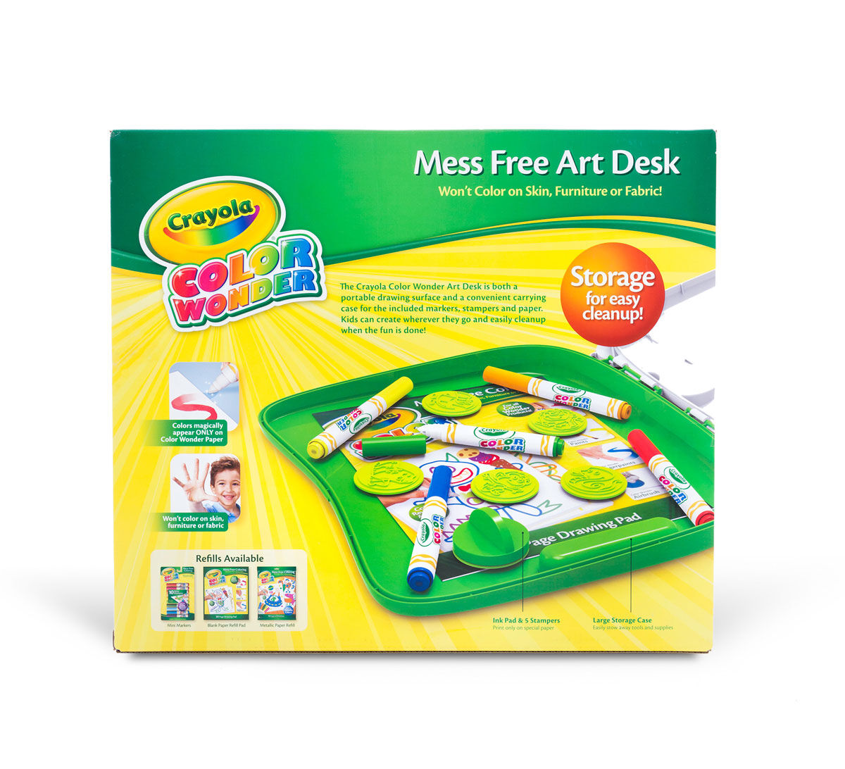 Color Wonder Mess Free Art Desk - Crayola
