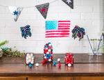 CIY Materials Value Kit-Sparkler & Flag Party Decorations