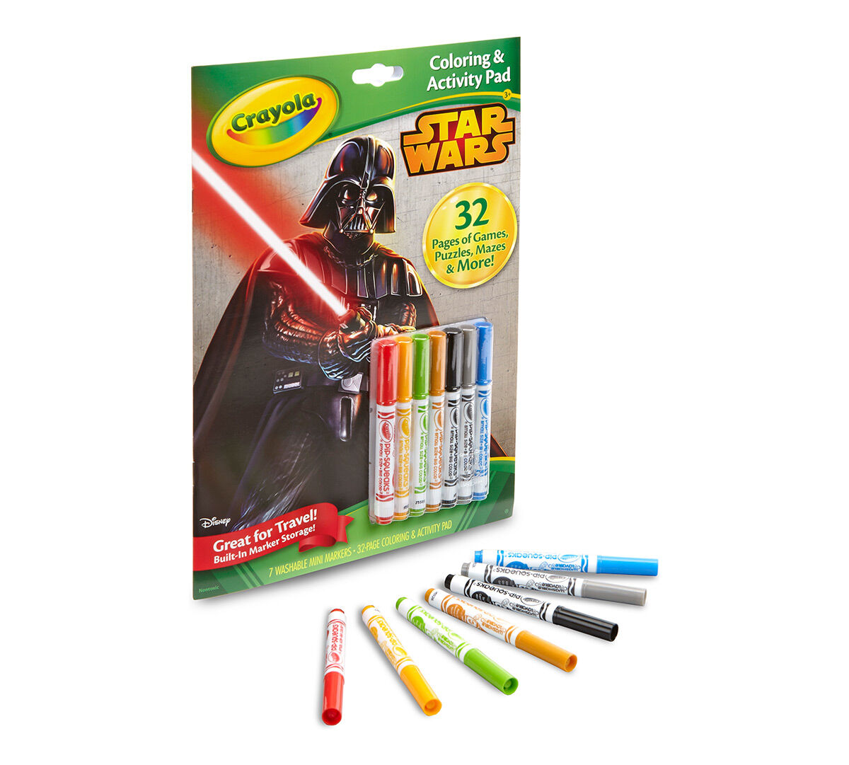crayola coloring activity pad star wars