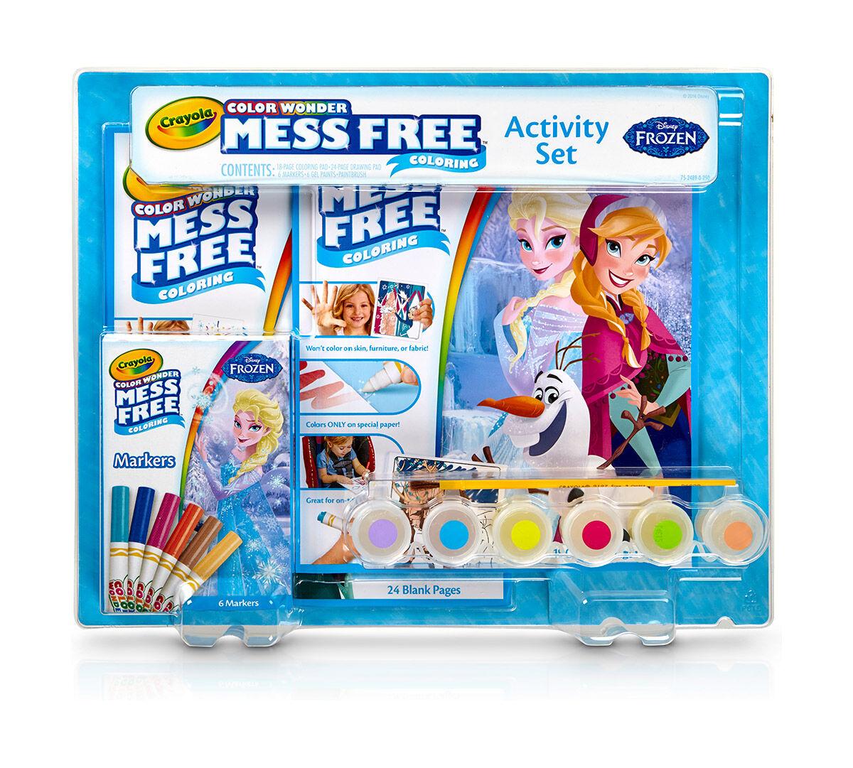 Color Wonder Mess Free Frozen Activity Set Crayola