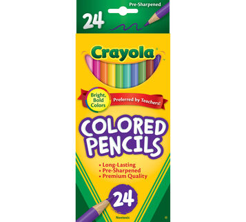 Colored Pencils, Long  24 ct.