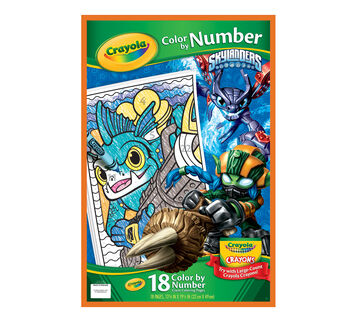 Color by Number, Skylanders