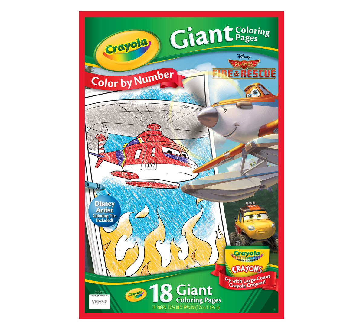 giant coloring pages disney planes fire u0026 rescue crayola