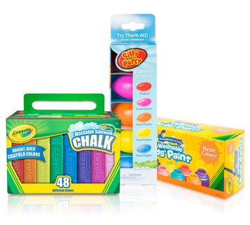 Putty, Chalk & Neon Paint Kit