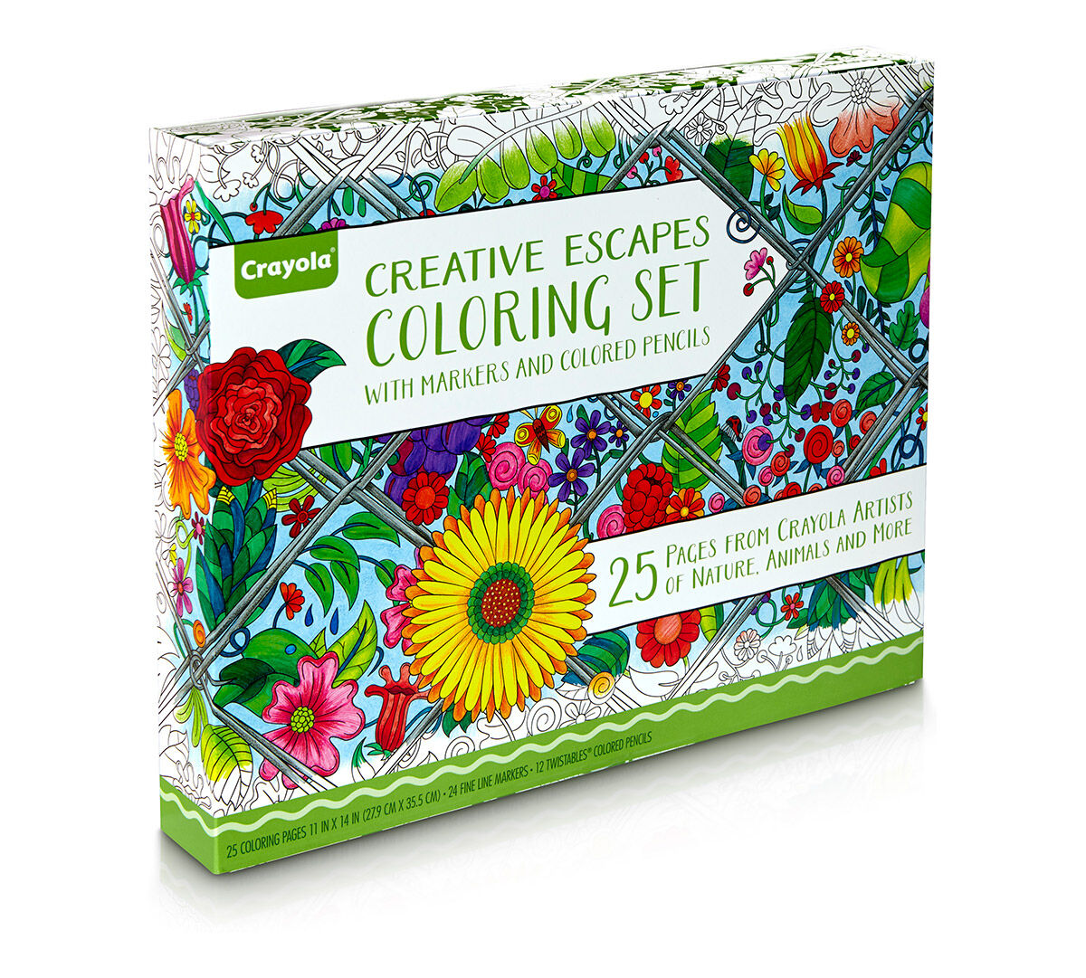 Creative Escapes Coloring Set Large Gift