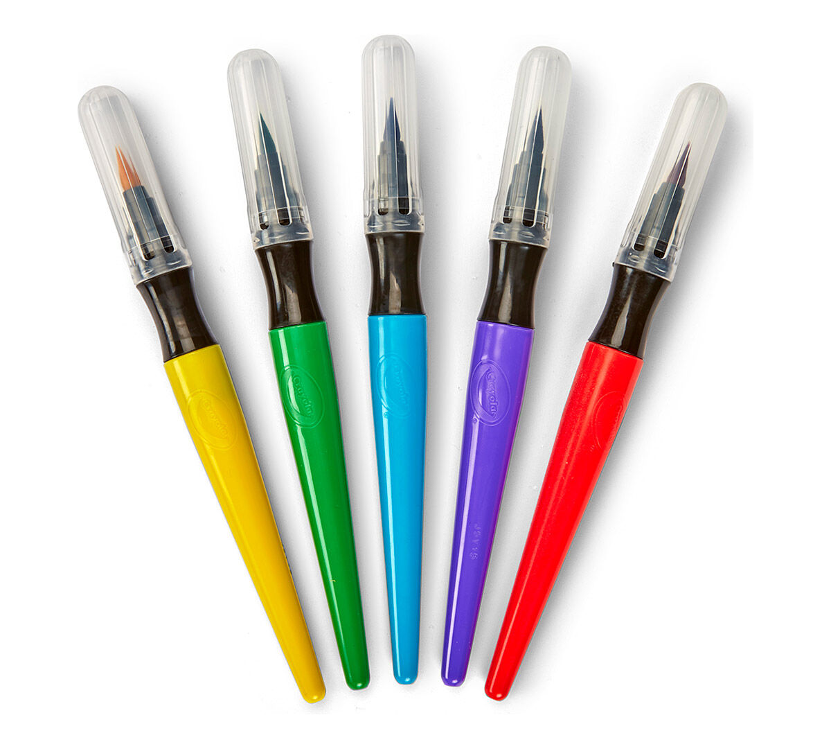 Online coloring with paint brush - Paint Brush Pens Classic 5 Ct