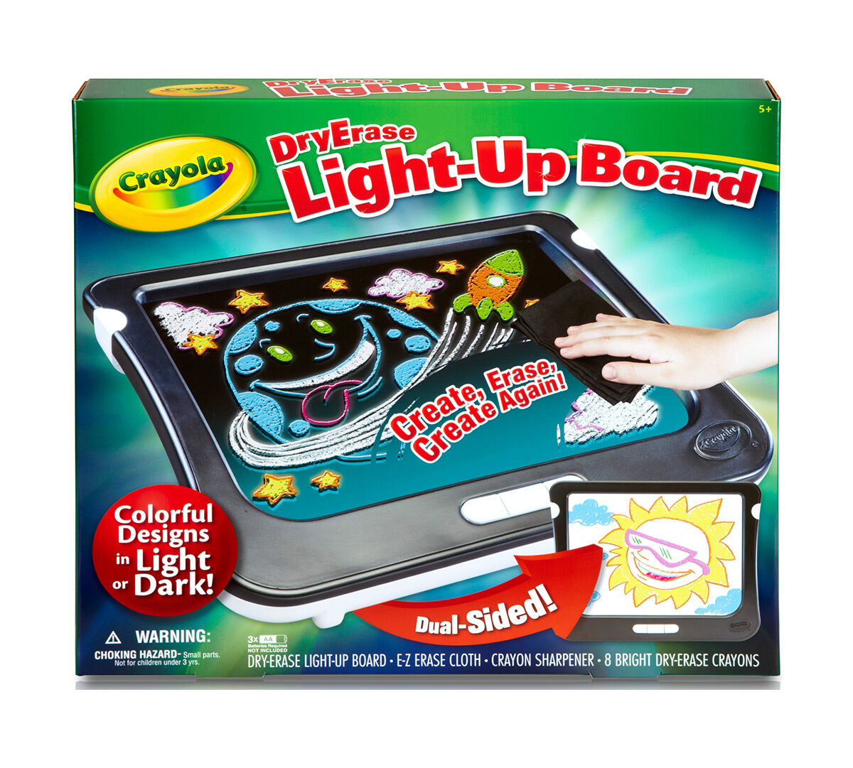 Dry-Erase Light-Up Board