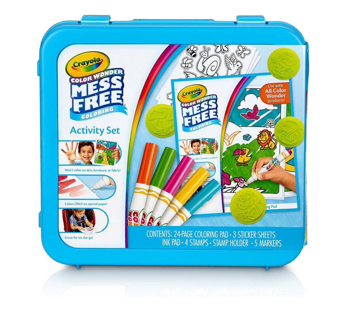 Color Wonder Mess Free Activity Set - Crayola