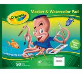 Marker & Watercolor Pad
