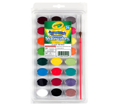 Washable Watercolors 24 ct.