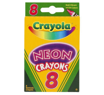 neon crayons 8 ct - Pictures Of Crayola Crayons