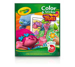 Trolls Color 'n Sticker Book