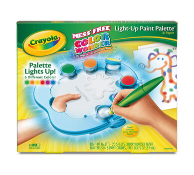 Color Wonder Light-Up Paint Palette