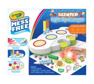 Color Wonder Scented Light Up Stamper Front