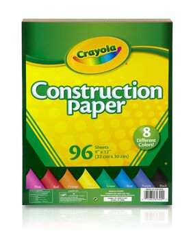 Construction Paper 96 ct.